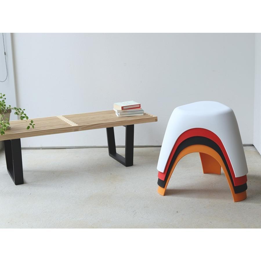 エレファントスツール 2脚セット elephant stool WH BK RD OR リプロダクト ジェネリック 柳宗理 デザイナーズ MTS-138 3244p 05