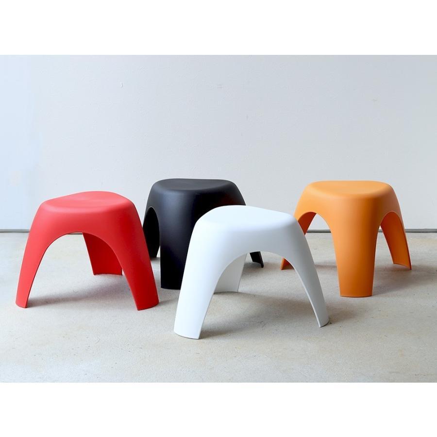 エレファントスツール 2脚セット elephant stool WH BK RD OR リプロダクト ジェネリック 柳宗理 デザイナーズ MTS-138 3244p 10