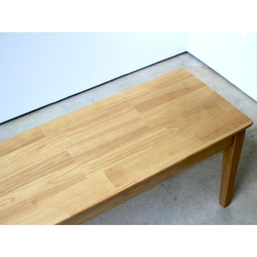 ダイニングテーブルセット 4点 4人 ダイニングセット ラバーウッド テーブル チェア 2脚 ダイニングベンチ 1台 MTS-060 MTS-152 MTS-062 NA WAL 3244p 14