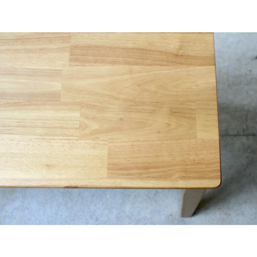 ダイニングテーブルセット 4点 4人 ダイニングセット ラバーウッド テーブル チェア 2脚 ダイニングベンチ 1台 MTS-060 MTS-152 MTS-062 NA WAL 3244p 15