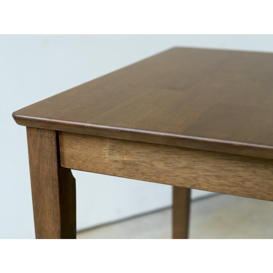 ダイニングテーブルセット 5点 4人 ダイニングセット ラバーウッド テーブル ファンバックチェア 4脚 MTS-060 MTS-152 ナチュラル ウォールナット|3244p|12