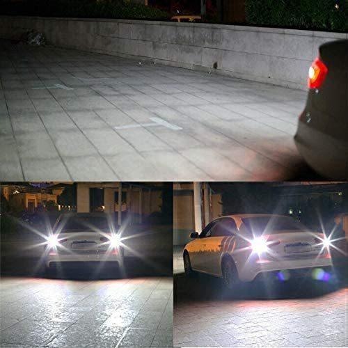 T16 LED バックランプ  バルブ T10/T15兼用 後退灯 4000LM爆光 12V車用 6500K 無極性 バックライトホワイト キャンセラー内蔵 取付簡単|34618|07