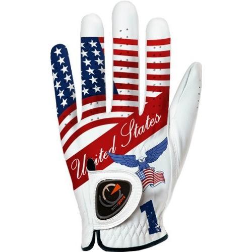 適切な価格 easyglove FLAG_USA-1メンズゴルフグローブ(ホワイト)、ミディアム/ラージ easyglove、左手着用, ニシトウキョウシ:e3a8f284 --- airmodconsu.dominiotemporario.com