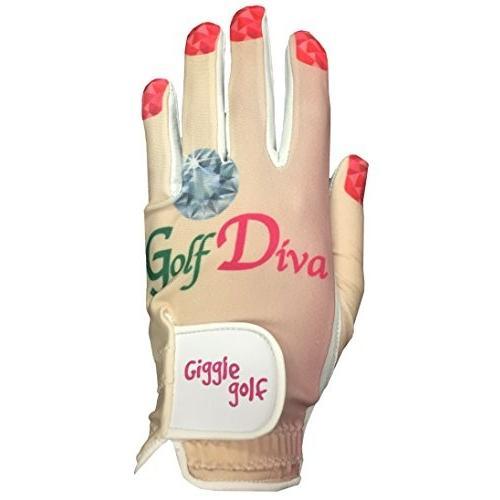 公式 Giggle Golf Giggle - レディースゴルフDiva - Golf Golf Glove(ミディアム、左手着用), おしゃれ照明ライトのBeauBelle:cf561215 --- airmodconsu.dominiotemporario.com