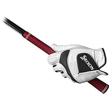 Srixon Tech Cabrettaゴルフグローブ、左手に着用、S、ホワイト、スモール