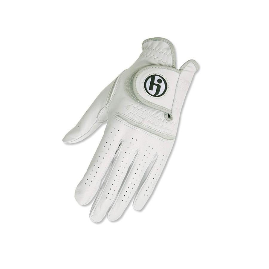 HJグローブメンズストーングレーソリットPro-Xゴルフグローブ、大きい、右手