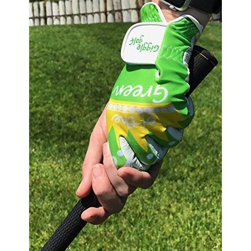 【正規販売店】 Giggle Golf Golf Queenグリーンレディースゴルフグローブ(X-Large Giggle、左手に着用), オーディオ逸品館:2e73b5cb --- airmodconsu.dominiotemporario.com
