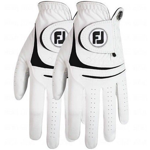 NEW FOOTJOY WEATHERSOF GOLF GLOVE 2パック - VALUE PACK-S