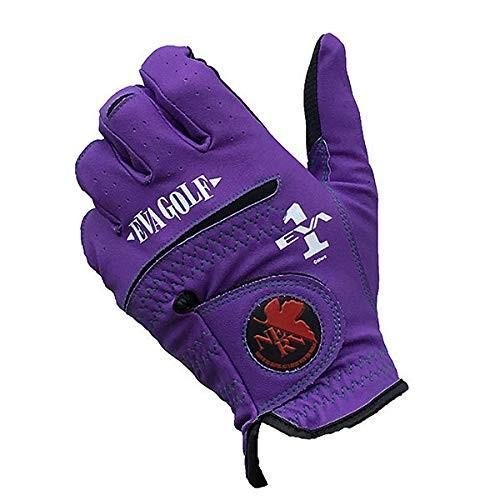 エヴァゴルフグローブ左手用(紫、小)