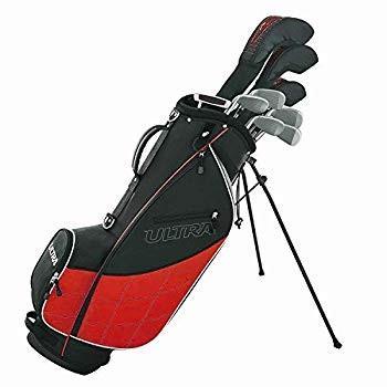ウイルソンウルトラメンズ13ピースゴルフクラブセットとSKBケースハードプラスチックトラベルケース