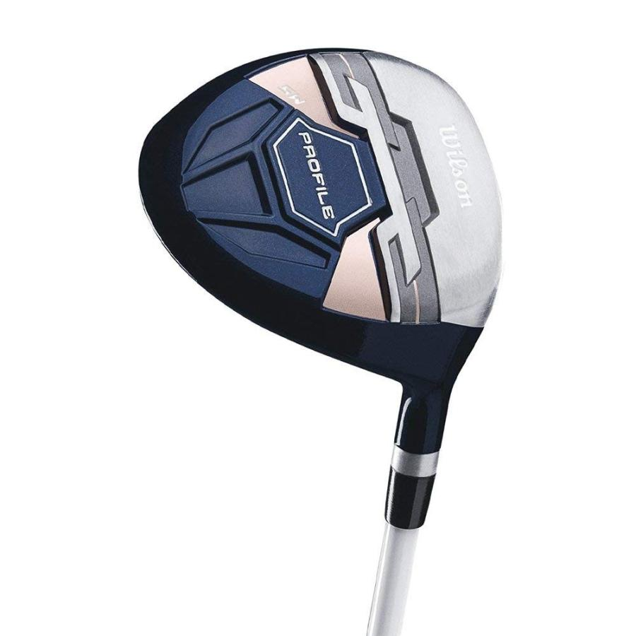 Wilson Profile XDレディース右利き用コンプリートゴルフクラブセットカートバッグ付きSKBケースデラックスATAスタンダードハ