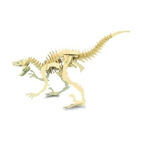 木工建築キットFsc Velociraptor木造建築物恐竜モデルゲーム