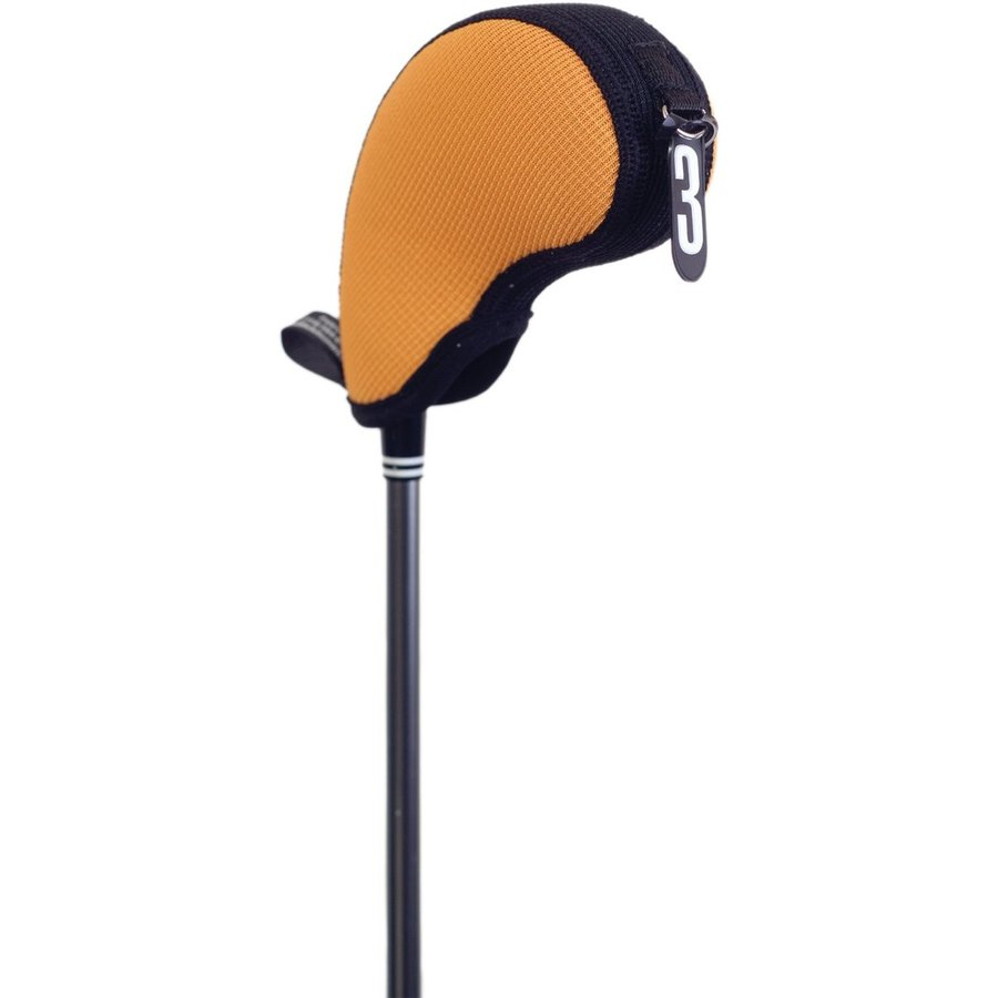ステルスクラブカバー17050ハイブリッドポケットミニID 3-4-5-Xゴルフクラブヘッドカバー、イエロー/ブラック