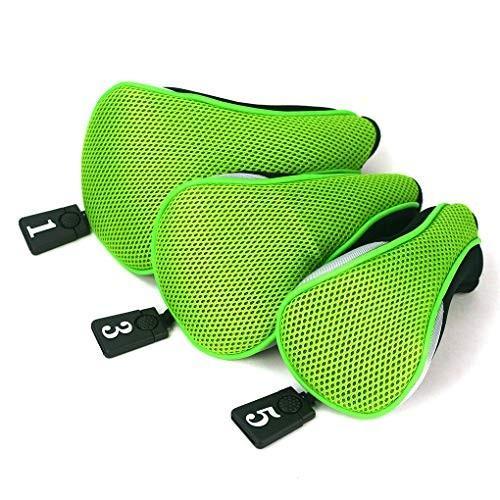 3本クラブヘッドカバーソフトウッドゴルフクラブドライバーヘッドカバーゴルフヘッドカバー保護セット