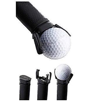 77techミニゴルフボールピックアップツールゴルフボールレトリーバー使いやすく、すべてのパターボールレトリーバーにフィット、ブラック