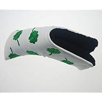 HIFROM(TM)ゴルフパターヘッドカバーヘッドカバーShamrock Cloverフィットすべてのブランド