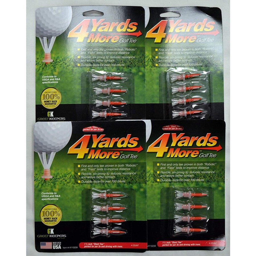 4 Yards More Golf Tees 1 3/4