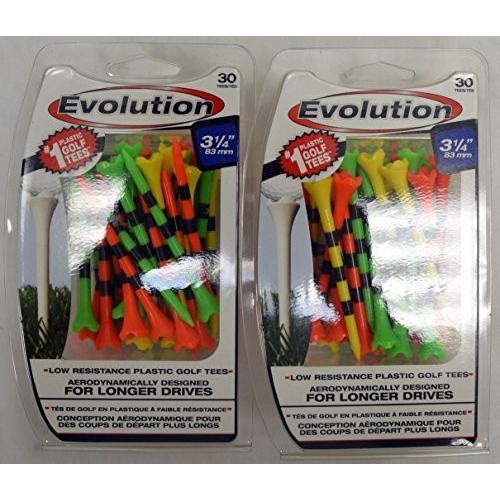 Pride Tee Evolution Golf Tees - 3 1/4