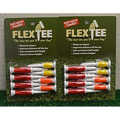 2 Packs Flex Tees 2 1/4