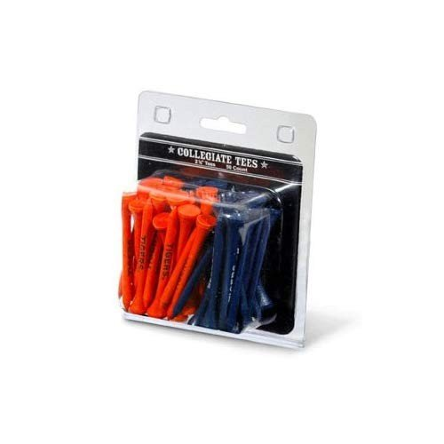 NCAA Imprinted Golf Tee - Pack of 50 NCAA Team: Auburn