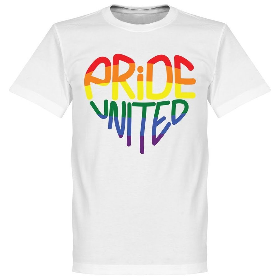 Retake Pride United Tee - 白い - L