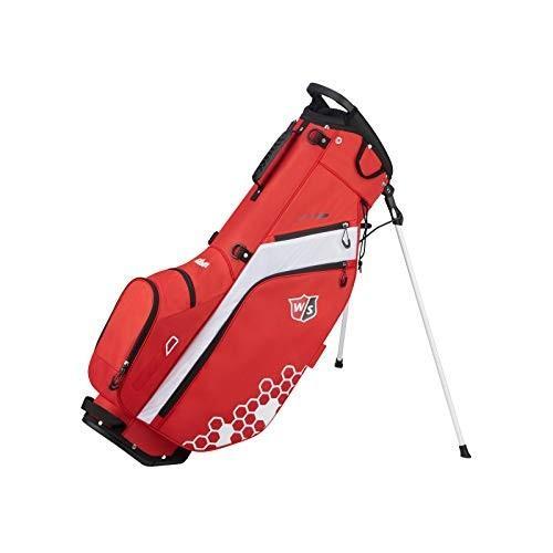 【未使用品】 Wilson Staff Feather Carry Golf Bag, Red, Knock,Knock,Puchic! ea472c97