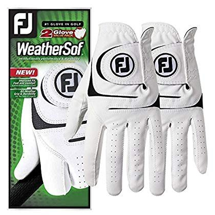 【ついに再販開始!】 FootJoy 2018 WeatherSof 2-Pack Golf Gloves 2018 Gloves Fit Regular White/Black Fit to, CHUMS(チャムス)ONLINE SHOP:6b4d2003 --- airmodconsu.dominiotemporario.com