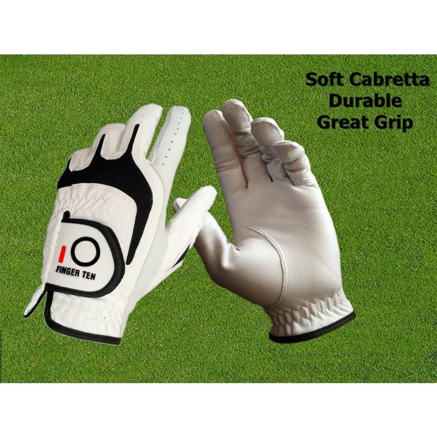 【在庫有】 FINGER TEN Right Men's Golf Glove Golf Left Hand Fit Handed Right Handed Golfer Value Pa, LAPIA:270d2239 --- airmodconsu.dominiotemporario.com