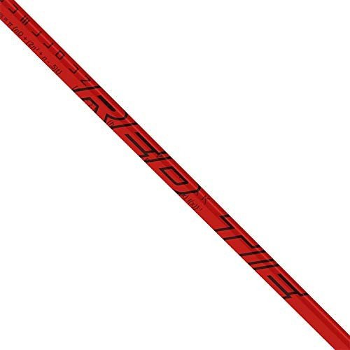 LA Golf 赤 Tie 60 R-Flex Shaft + PXG Driver Tip + Grip