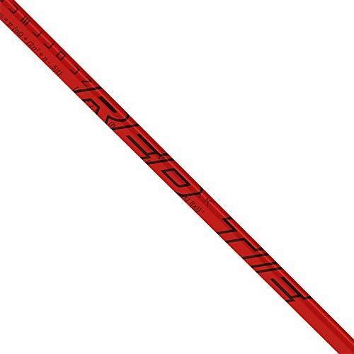 LA Golf 赤 Tie 70 X-Flex Shaft + Ping G / G30 / G400 Driver Tip + Gri