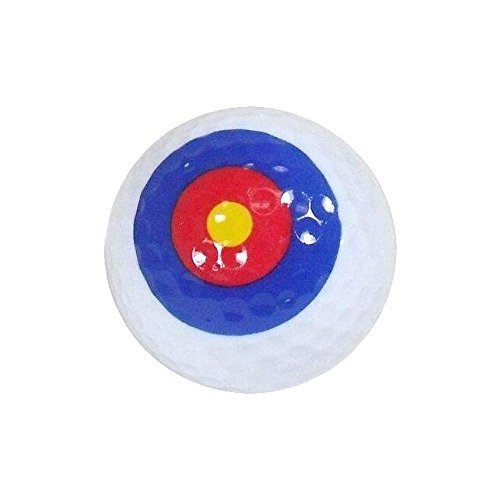 Golf Balls, Nitro Novelty Bullseye, 3 Pack