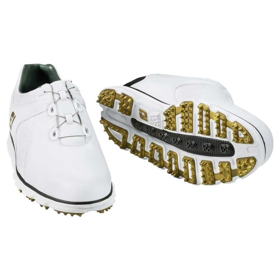 FootJoy Pro SL BOA Golf Shoes 53596 白い/黒 - 12 MEDIUM