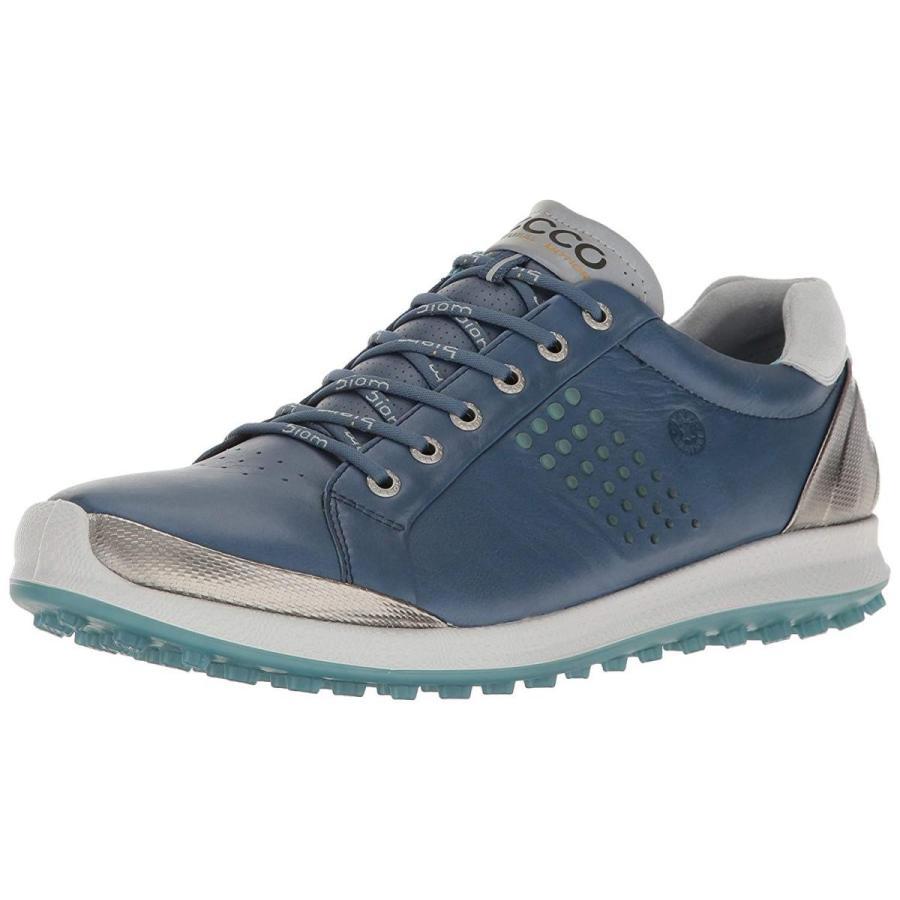 ECCO Men's Biom Hybrid 2 Golf Shoe Denim 青/Aquatic 47 EU/13-13.5 M