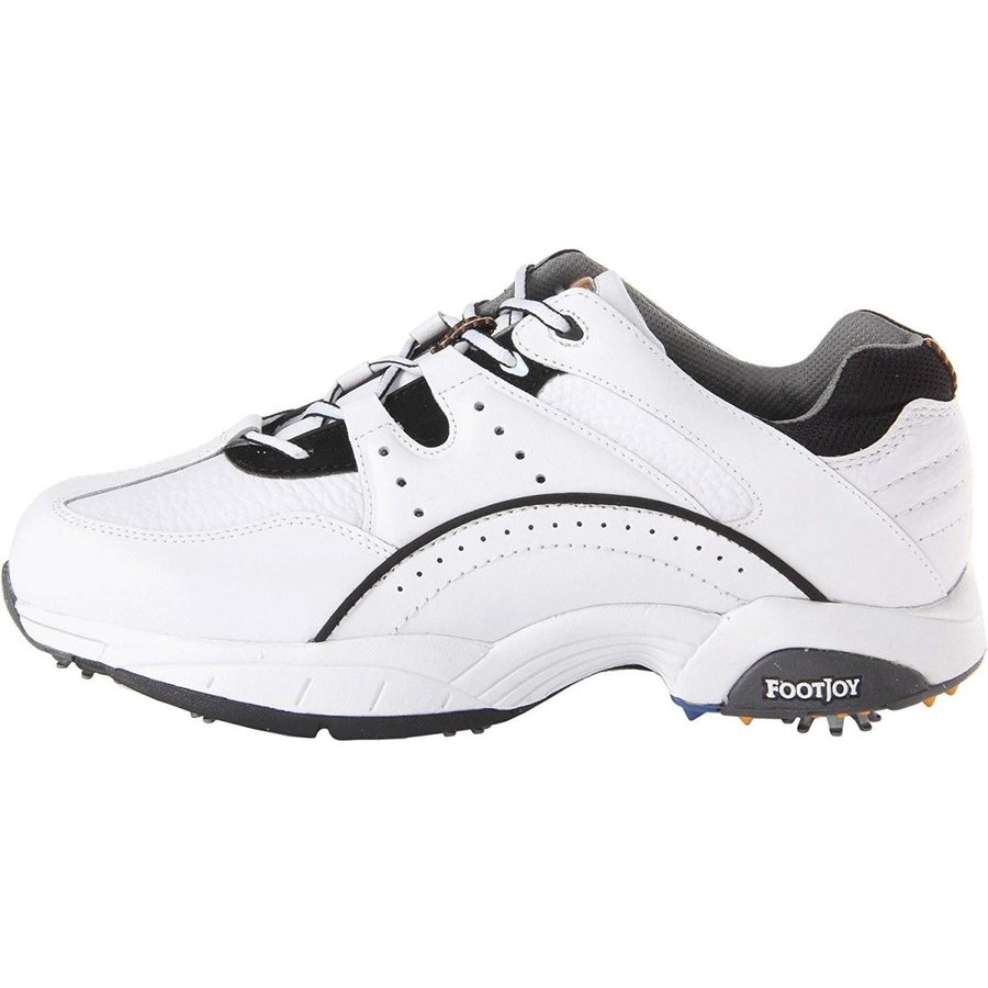 FootJoy Men's FJ Hydrolite Athletic Shoe 白い/黒 Sneaker 11.5 W