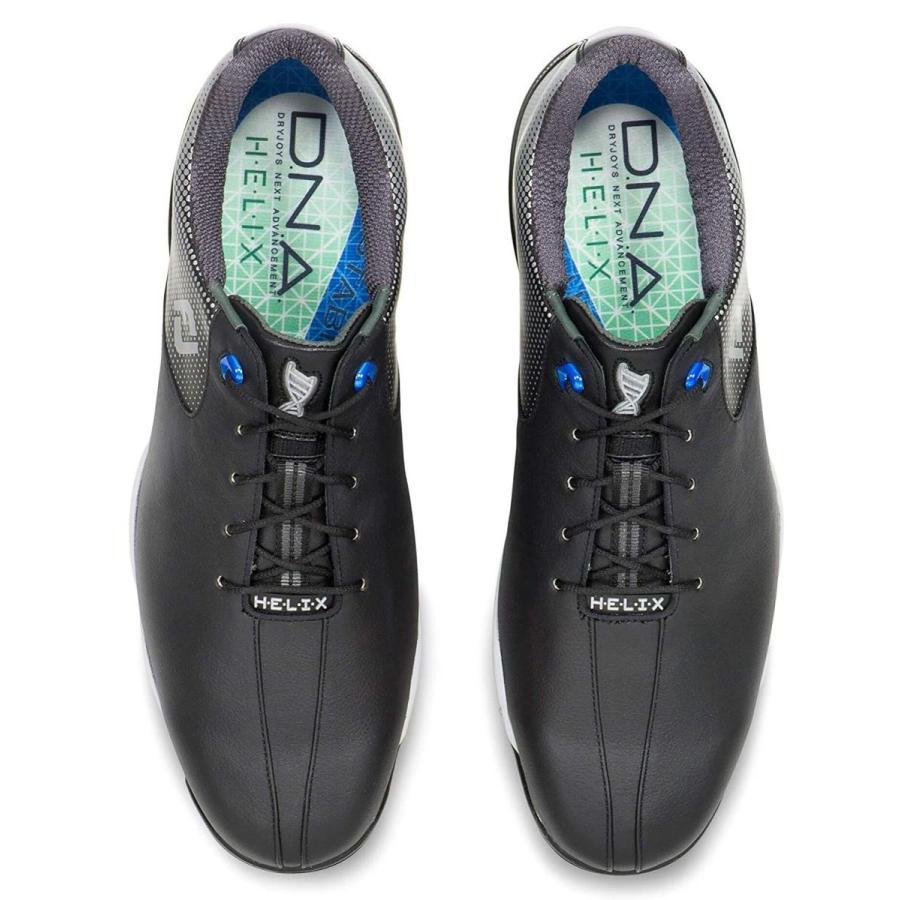 FootJoy Men's DNA Helix Golf Shoes 53318 - Black - 10.5 - Extra-Wide