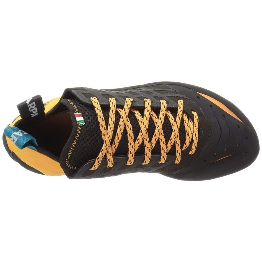 SCARPA Instinct Climbing Shoe - Men's 黒/オレンジ 44.5