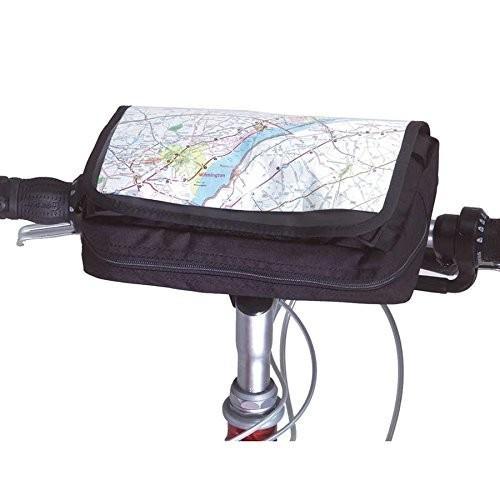 Inertia Designs Roadtrip Handlebar Bag-黒, Converts To Fanny Pack