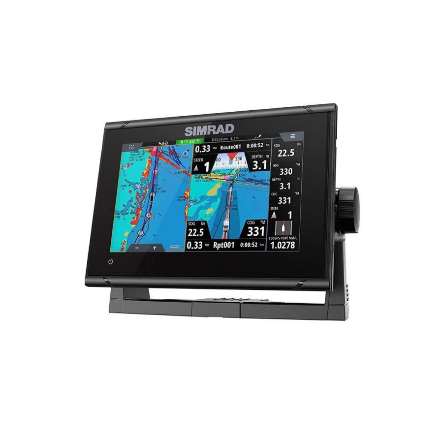 Simrad GO7 XSR: 7-inch Fishfinder Radar Display Active Imaging 3-in-1