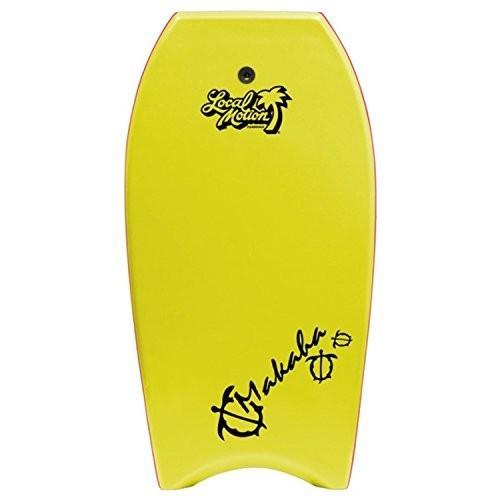【限定特価】 Local Body Makaha Motion Makaha Motion Body Board, Yellow, 39