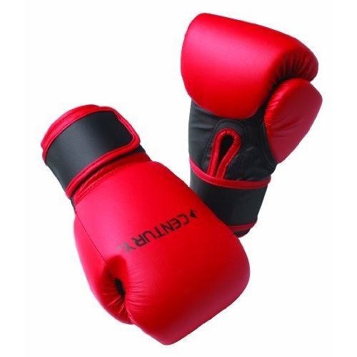Century Youth Boxing Gloves Red/Blk 6 Oz