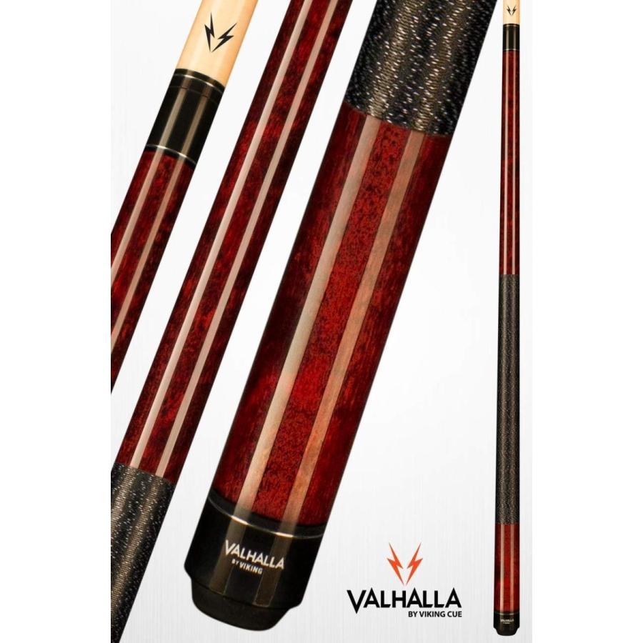 Valhalla VA120 by Viking 2 Piece Pool Cue Stick Mahogany Stain Irish L