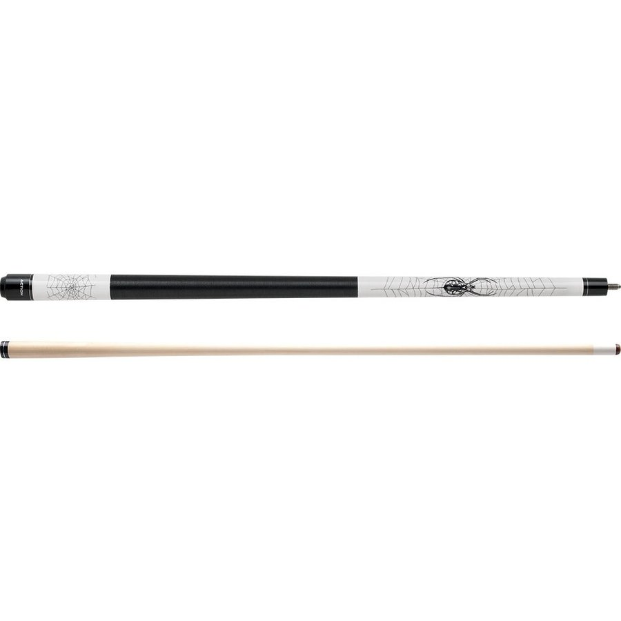 Action Adventure ADV114 黒 Spider Pool Cue Stick with 12 pieces of