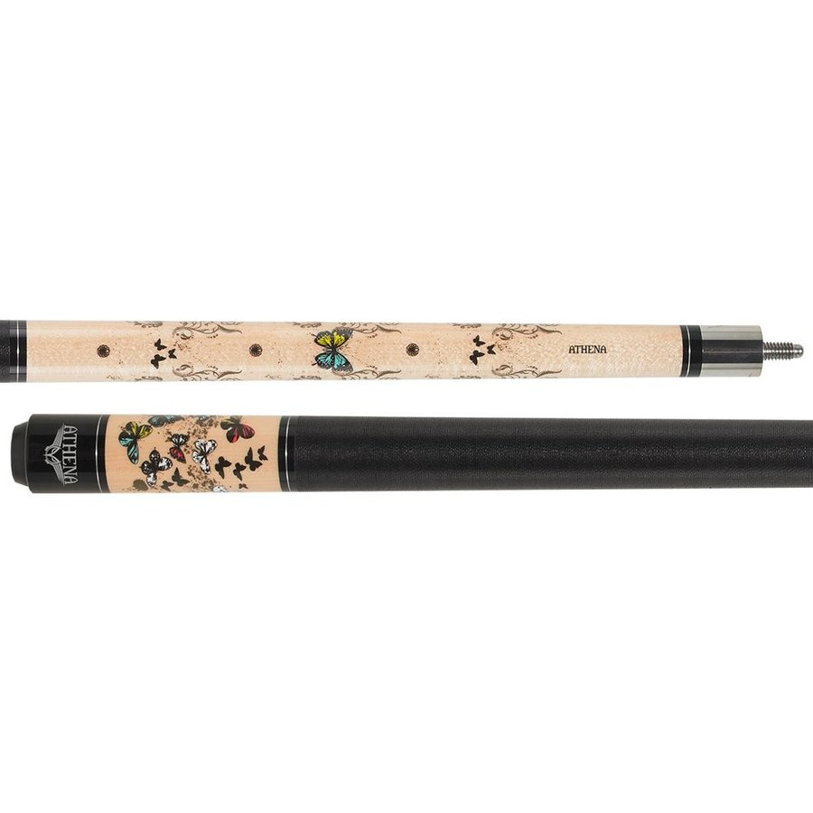 Athena Butterfly and Vine ATH45 Pool Cue, 17.0oz