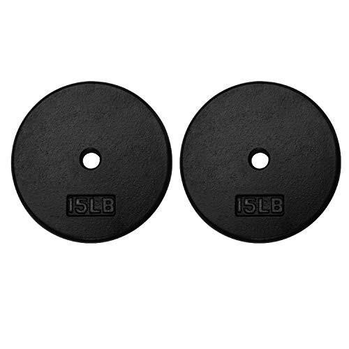 注目のブランド A2ZCARE Standard 1-Inch Cast Iron Weight Plates 1-Inch Weight Center-Hole A2ZCARE for Dumbbe, サイムラ:ab068360 --- airmodconsu.dominiotemporario.com