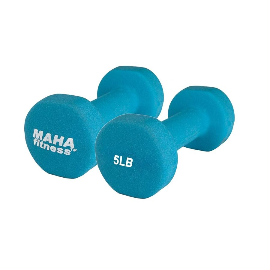 正規代理店 Maha Fitness Neoprene Pack Coated Dumbbells 2 Pack Neoprene (5 (5 LB), フランス時計ピエールラニエ公式:158547bc --- airmodconsu.dominiotemporario.com