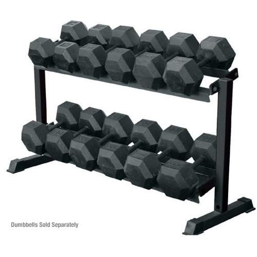 York 2 - Tier Pro Hex Dumbbell Rack
