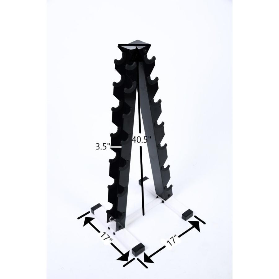 一番人気物 Ader Black Octagon Rubber Dumbbells 5,10,20,30,40,45,50LB (Total 400LB, ビーズ箱 一凜ichirin 48c03840