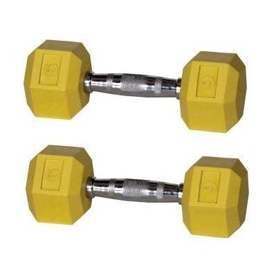 2019人気の York Barbell Color Coded Barbell Rubber 9 Hex Dumbbells - 9 Rubber lbs. Yellow (Pair) -, スノーボードSTOMP:6a54029a --- airmodconsu.dominiotemporario.com