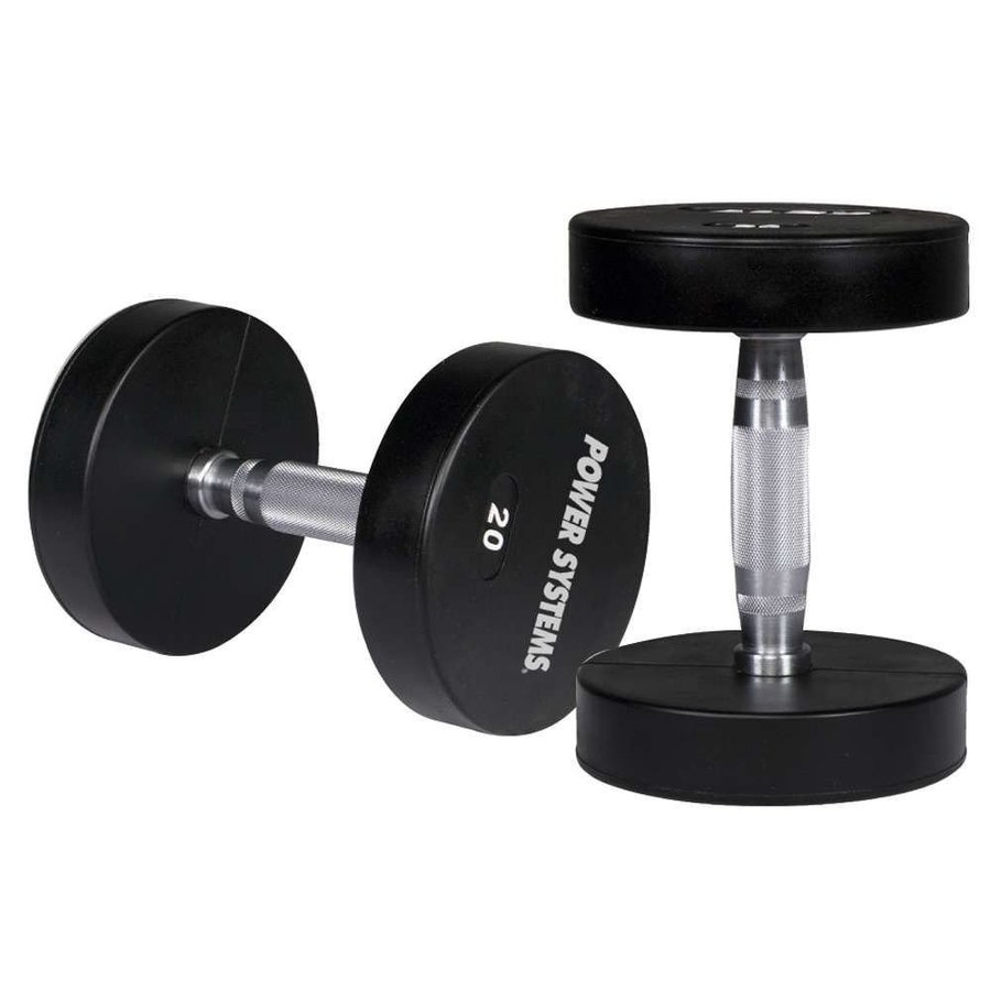 Power Systems Elite Urethane Dumbbells (90-Pounds)