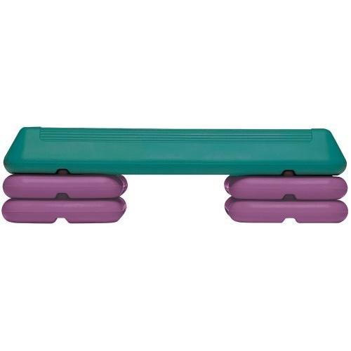 大人女性の The Step Circuit Step with Platform and 4 Risers, Teal/Purple, ワシマムラ 49628b31